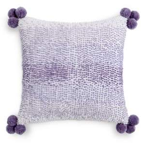 Sky French Knot Decorative Pillow, 18 x 18 - 100% Exclusive