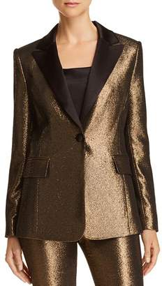 Alice + Olivia Robert Metallic Blazer