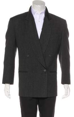 Giorgio Armani Wool Double Breasted Blazer