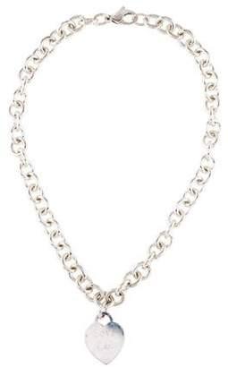 Tiffany & Co. Heart Tag Choker