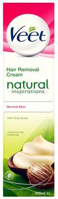 Veet Natural Inspirations Hair Removal Cream for Normal Skin 200ml