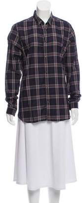 The Kooples Collared Plaid Top w/ Tags