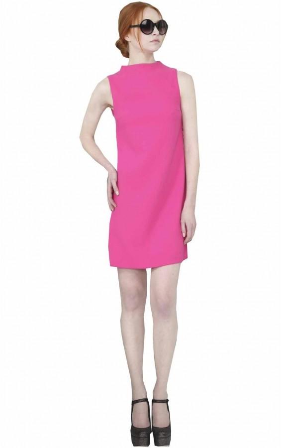 Darcey High Neck Mini Dress