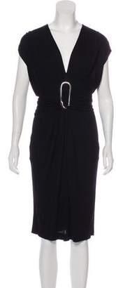 Hermes Clou Midi Dress
