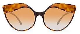 Linda Farrow Women's Oversized 59.5MM Cat Eye Sunglasses