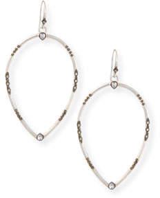 Armenta New World Open Pear Drop Earrings