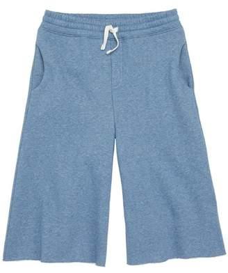 Stem Cutoff Flared Sweatpants (Toddler Girls, Little Girls & Big Girls)
