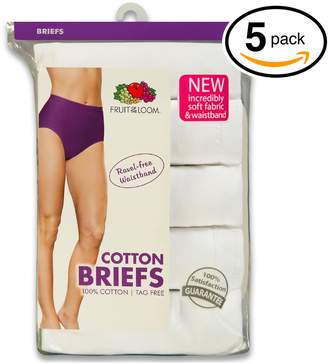 Fruit of the Loom Women's Briefs - (5-Pack) (XXX-Large/10, )
