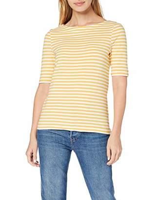 db63ba1df24d5b Gant Women's D1. Boatneck Striped Top Vest, (Honey Gold 759), X