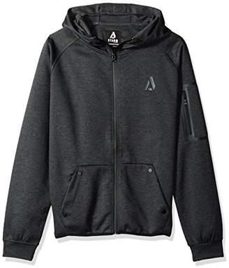 Akademiks Men's Long Sleeve Zip-up Hoodie Sweatshirt