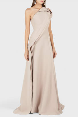 Maticevski Amorous One Shoulder Gown