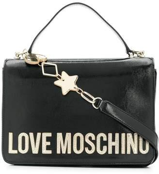 Love Moschino star detail tote