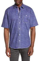 Bugatchi Classic Fit Chambray Shirt