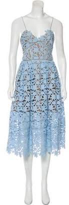 Self-Portrait Lace Midi Dress