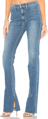 Joe's Jeans The Micro High Rise Flare $225 thestylecure.com