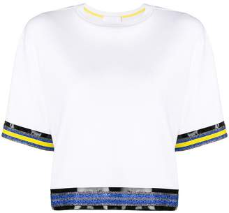NO KA 'OI No Ka' Oi contrast trim T-shirt