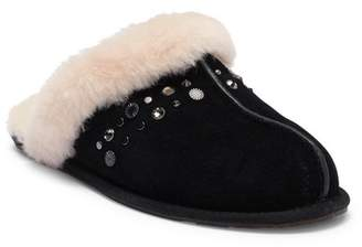 UGG Scuffette II Studded Suede Genuine Shearling Slipper
