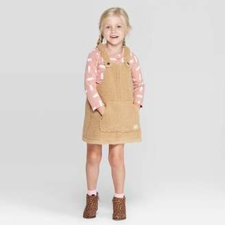 Art Class Toddler Girls' Top and Sherpa Skirtall Set - art classTM Pink