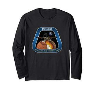 NASA InSight Mars Long Sleeve Shirt