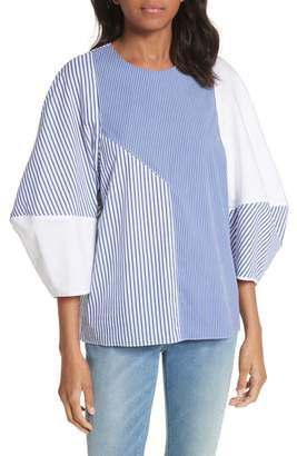 Tibi Colorblock Top
