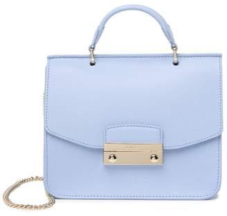 Furla Julia Small Top Handle Leather Crossbody Bag