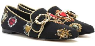 Dolce & Gabbana Embellished ballerinas