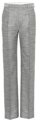 Rick Owens Cotton and silk-blend pants