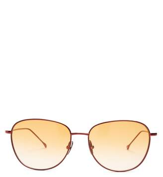 Prism New York Metal Sunglasses - Womens - Burgundy