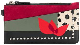 Paula Cademartori Zipped Card Holder Love