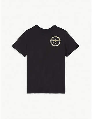 Boy London Eagle logo cotton T-shirt 3-16 years