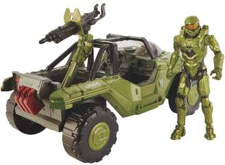 Mattel Halo Warthog Vehicle & Master Chief Set
