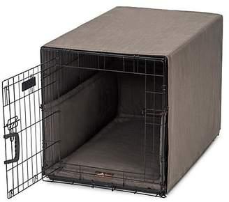 Jax & Bones Windsor Charcoal Small Dog Crate Cover