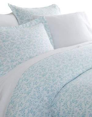 Blissful Bedding Premium Ultra Soft Three-Piece Burst of Vines-Print Duvet Cover Set