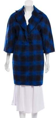 Thakoon Patterned Knee-Length Coat