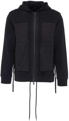 Craig Green 'String' patch pocket zip hoodie