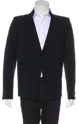 Boris Bidjan Saberi Deconstructed Woven Coated Blazer