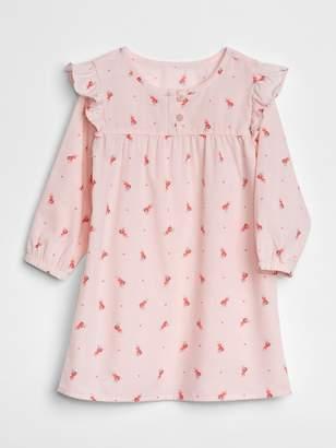 Gap Big Dreams Ruffle PJ Dress