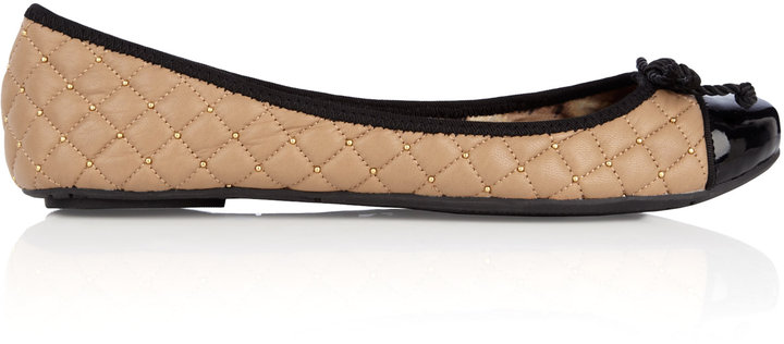Sam Edelman Calypso Leather Quilted Ballet Pump