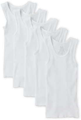 Fruit of the Loom Boys) 5-Pack Ribbed Tanks