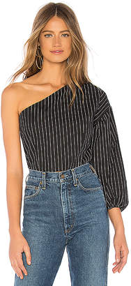 About Us Melenie Puff Sleeve Top