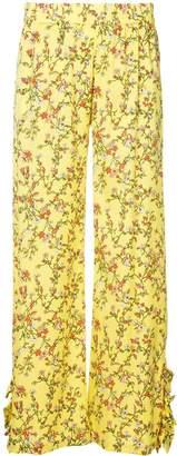 Baum und Pferdgarten floral print trousers