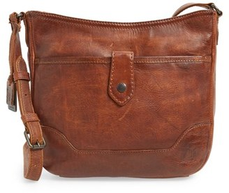 Frye Melissa Button Crossbody Bag - Brown $348 thestylecure.com