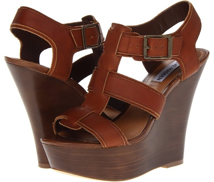 Steve Madden Wanting (Cognac) - Footwear