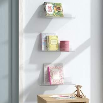 Mack & Milo Aleshia Acrylic Wall Shelf Mack & Milo