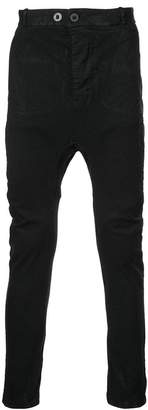 11 By Boris Bidjan Saberi drop-crotch trousers