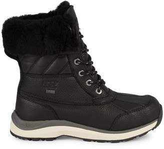 UGG Adirondack Faux-Fur Lined Leather Boots