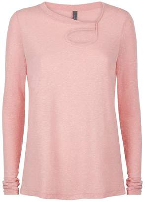 Sweaty Betty Twist Long Sleeve Yoga Top