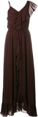 Mes Demoiselles frill trim maxi dress
