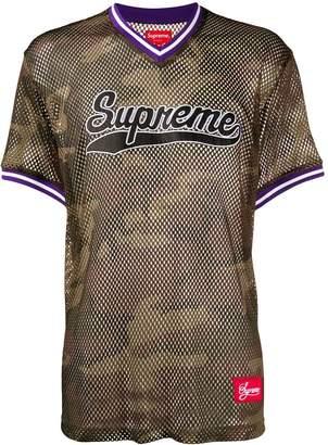 Supreme mesh baseball top