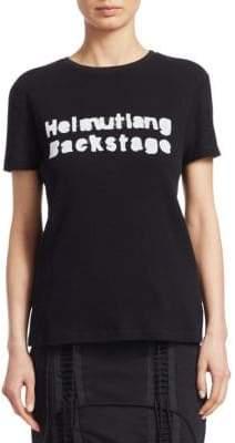 Helmut Lang Re-Edition Backstage T-Shirt